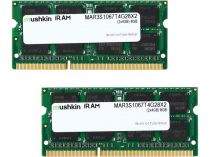 achat Mémoire PC Bureau - Mémoire PC Bureau Mushkin SO-DIMM 8Go DDR3-1066 Kit 2Rx8 MAR3S1067T4G2