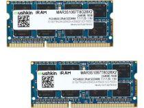 achat Mémoire PC Bureau - Mémoire PC Bureau Mushkin SO-DIMM 16Go DDR3-1066 Kit 2Rx8 MAR3S1067T8G