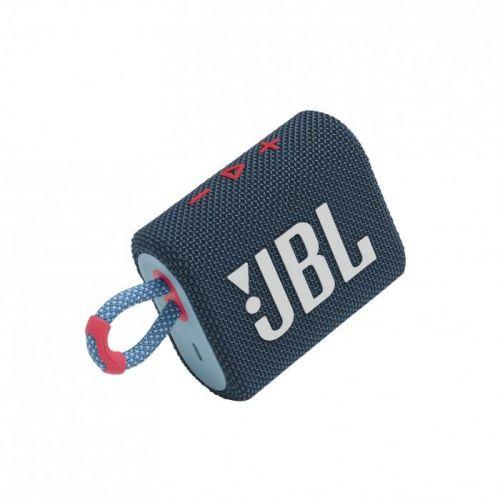 Altavoz Portátil JBL GO 3  BT IPX7 ,USB-C Azul/Rosa