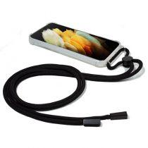 Carcasa Samsung G998 Galaxy S21 Ultra Cordón Negro