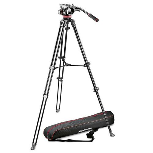 Manfrotto Tripé Video MVK502AM + Cabeça MVH502A