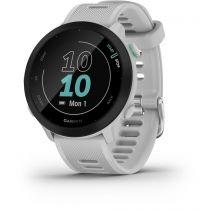 achat GPS Running / Fitness - Montre desporto Garmin Forerunner 55 Blanc