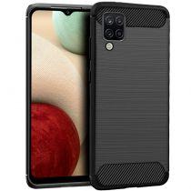 Carcasa COOL para Samsung A125 Galaxy A12 / M12 Carbón Negro