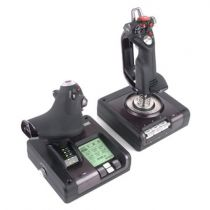 achat Volants & Joysticks - Joystick Logitech G Saitek X52 PRO FLIGHT Hotas Throttle / acelerador