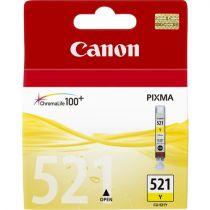 Comprar Cartucho de tinta Canon - CANON Cartucho Tinta CLI 521 amarillo BLISTER 2936B005