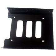 Adaptadores - UNYKA ADAPTADOR SSD 2.5 A 3.5 METALICO Negro 50519