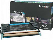 achat Toner imprimante Lexmark - LEXMARK TONER Bleu C/RET C734/C736/X734/X736/