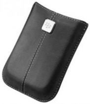 buy Blackberry Cases - Case Leather Blackberry HDW-18972-001 Black for Storm/Storm2