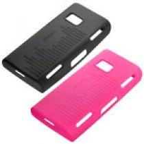 achat Housses et Étuis - Étui Silicone Nokia CC-1002 Magenta Pink Pour 5530