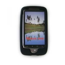 buy iPhone Silicone/TPU cases - Case silicone for Google Nexus One Black