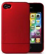 Comprar Protección Especial iPhone 4/4S - Funda Goma Dura Ultra-slim para iPhone 4 Rojo