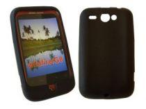 Comprar Fundas - funda Goma Negra para HTC Wildfire