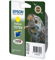 achat Encre imprimante Epson - EPSON Encre Imprimante STY PHT 1400 Jaune C13T07944010