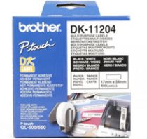 Comprar Papel - BROTHER ETIQUETAS MULTI-USO 17x54 MM DK11204