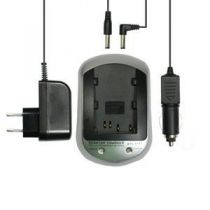 buy Camcorders Chargers - Charger Samsung SLB-0837(B) + Carreg Car