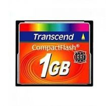 Comprar Compact Flash - Transcend Compact Flash 1GB MLC 133X TS1GCF133