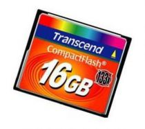 achat Compact Flash - Transcend Compact Flash 16Go MLC 133X TS16GCF133