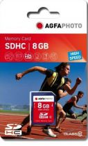 Comprar Tarjeta Secure Digital SD - AgfaPhoto SDHC 8GB Class 10 / High Speed / MLC