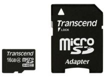 Comprar Tarjeta Micro SD / TransFlash - Transcend MicroSD 16GB SDHC Class 4 TS16GUSDC4