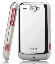 achat Protection Spéciale HTC - Étui   HTC Wildfire S  Metallic Argent CM013961
