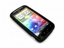 buy Cases - Case Silicone Black for HTC Sensation