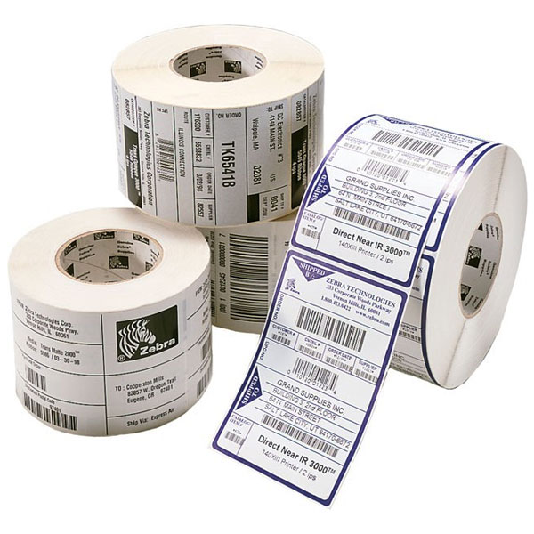 Consommables POS - ZEBRA Z-ULTIMATE 3000T, LABEL ROLL, SYNTHETIC 880350-063