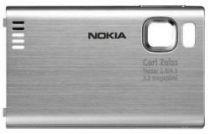 Comprar Carcasa - Tapa Bateria Nokia 6500 Slide Plata