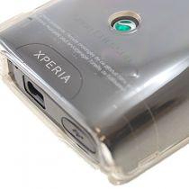 achat Façade - Trappe Batterie Sony Ericsson X10 mini Argent