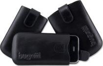 Comprar Fundas Blackberry - Funda Piel Slim Bugatti  ´´Easy Release System´´ L Negra 07313