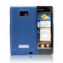Comprar Protección Especial - Samsung SAMGALS2BL metal look Blue Galaxy S2 i9100