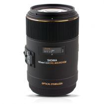 achat Objectif pour Nikon - Objetif Sigma EX 2,8/105 DG Macro NAFD OS HSM
