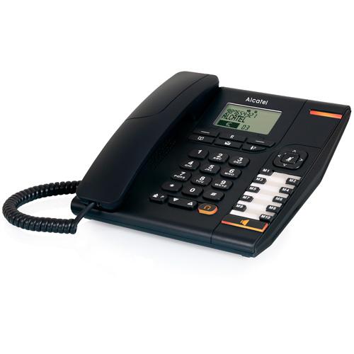 Teléfonos Fijos Analógicos - Telefono Alcatel Pro Temporis 880 negro