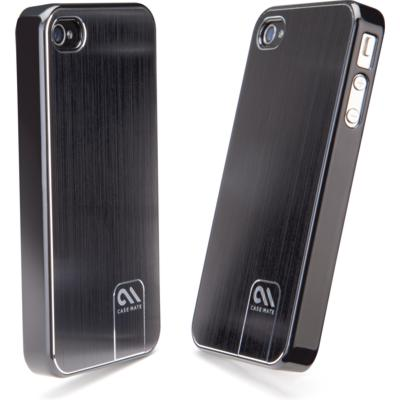 Protection Spéciale iPhone 4/4S - case-mate CM014538 iPhone 4 Aluminium Noir Barely There Cas CM014538