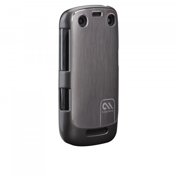 Protection Spéciale Blackberry - Case-Mate CM016700 BlackBerry 9360 Argent Brushed Aluminium