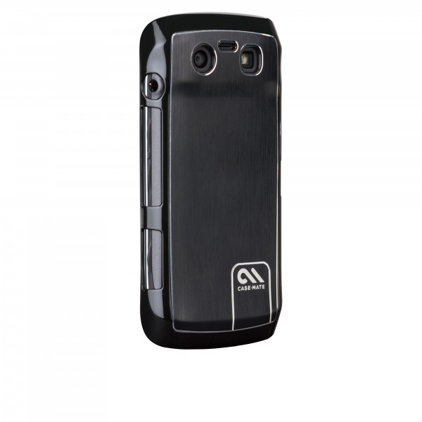Protection Spéciale Blackberry - Case-Mate CM016724 BlackBerry 9860 Noir Brushed Aluminium B