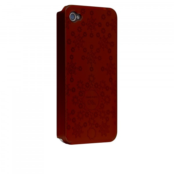 Protection Spéciale iPhone 4/4S - Case-Mate CM016774 iPhone 4/4s Rouge Barely There Daisy CM016774