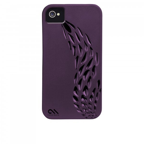 Protection Spéciale iPhone 4/4S - Case-Mate CM017124 Emerge iPhone 4/4s Purple CM017124