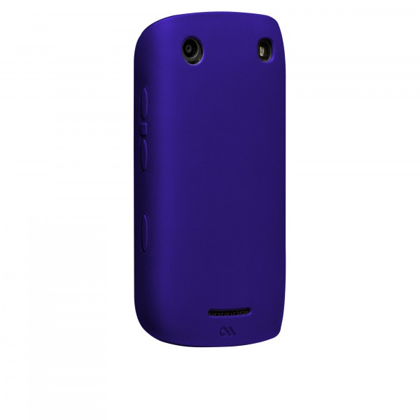 Protection Spéciale Blackberry - Case-Mate CM018423 Smooth BlackBerry 9380 Bleu
