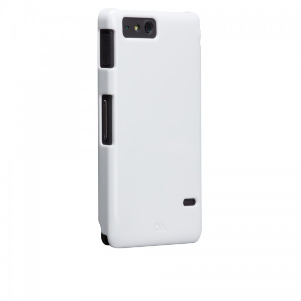 Protectión - Case-mate Barely There Sony Xperia Go Blanc