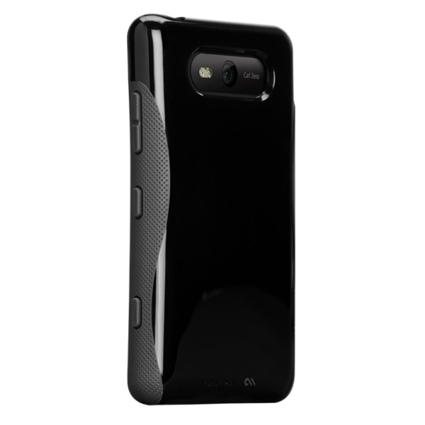 Fundas - Case-mate POP Funda Nokia 820 Negro/ Gris CM023379