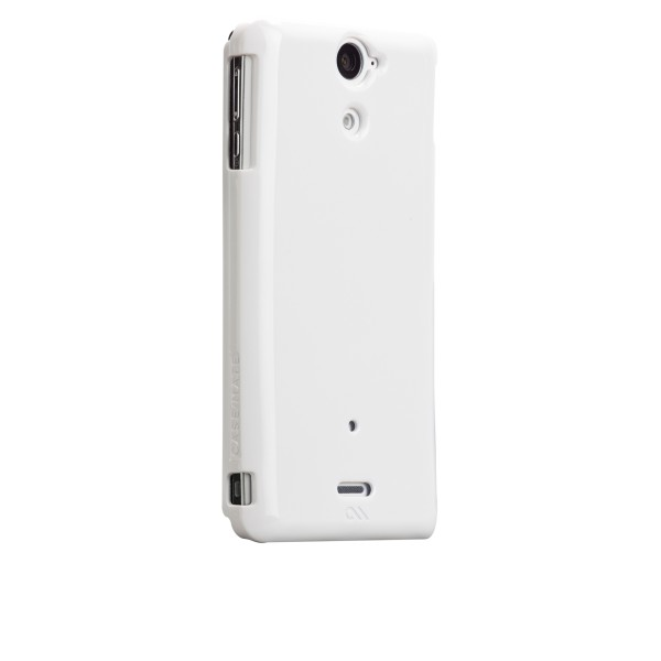 Protectión - Étui Case-mate Barely There Sony Xperia V Blanc CM024549