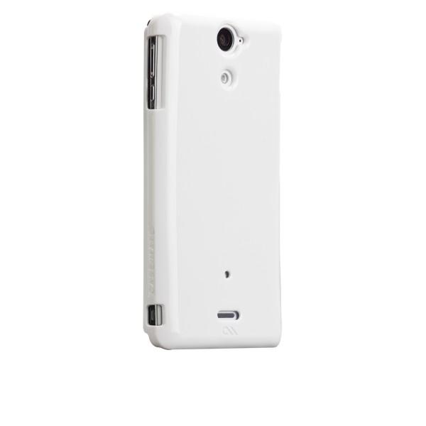Protección Especial - Case-mate Barely There Sony Xperia V Blanco