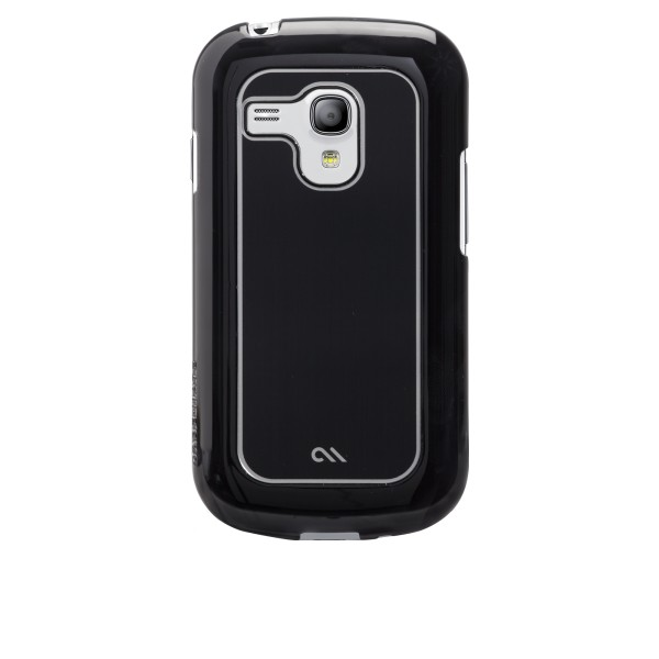 Accéssoires Galaxy S3 mini i8190 - Case-mate Barely There Samsung Galaxy S3 Mini Brushed Alumin