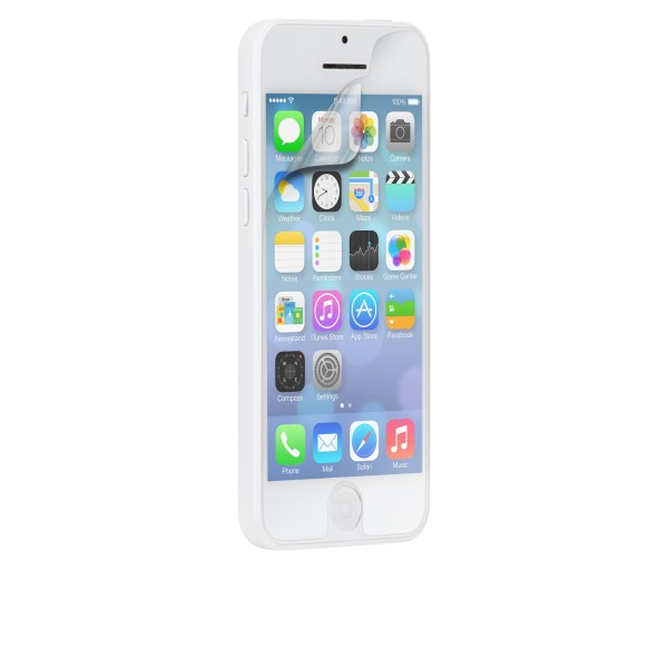 Protector de Ecrã iPhone - Case-Mate Screen Protectors Apple iPhone 5c