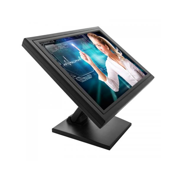 Visor POS - MONITOR 15´´ LCD TFT 1024X768  PRETO TOUCH 5 W HS1503M