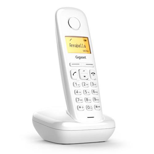 Teléfonos Inalámbricos DECT  - Telefono inalambrico dect Gigaset A170 Blanco