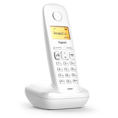 Teléfonos Inalámbricos DECT  - Telefono inalambrico dect Gigaset A270 Blanco