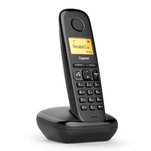 Téléphone sans fil DECT - Téléphone sem-fios dect Gigaset A270 Noir