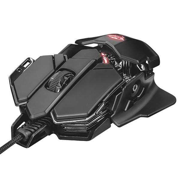 Raton Gaming - TRUST GAMING Ratón GXT138 X-RAY LED RGB 4000D 22089