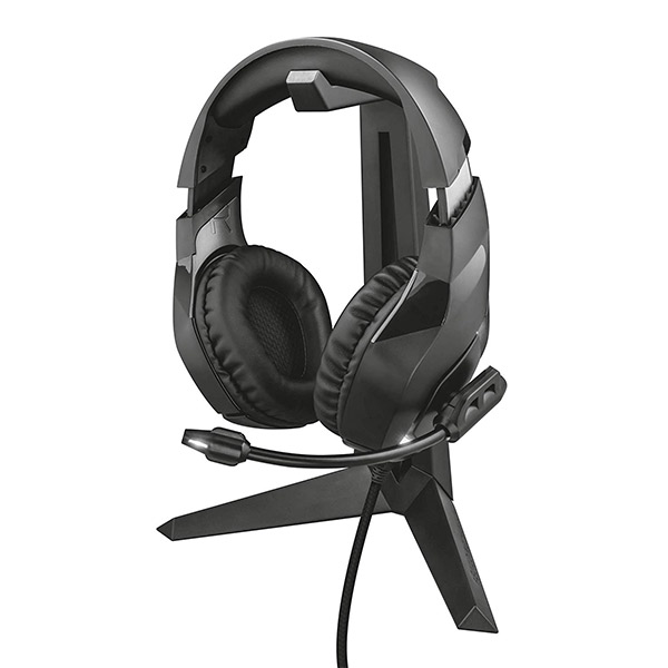 Auriculares Gaming - TRUST HEADPHONE GAMING STAND GXT260 22973